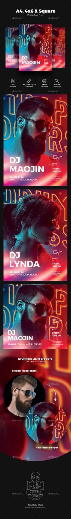 2138 Best Flyer Design Inspirations Images On Pinterest In 2019