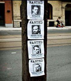 Michael scofield - you are wanted. Guerilla Marketing, Street Marketing, Prison Break 5, Dominic Purcell, Michael Scofield, Netflix, Wentworth Miller, Film Serie, Canada