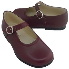 EUROPEAN SHOES FOR CHILDREN - Classic Leather T-Strap Shoes for Girls -  Linen cc34ff53adb