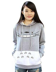 Women's Athletic Hoodies - Kize Women Casual Hooded Cartoon Patchwork Pullover Hoodie Plus Size Sweatshirt -- Find out more about the great product at the image link.