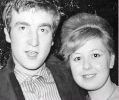 John and a fan, 1962 | from the Meet the Beatles for Real blog
