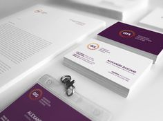CERN Advanced Information Systems Identity on Behance