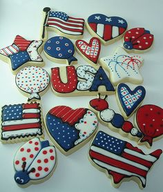 Ahhh, I wish I had time to make these for this weekend... Maybe 4th of July.