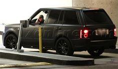 Chiếc Range Rover của anh chàng được hãng xe độ Kahn độ lại