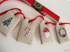 Christmas tags Pinta La boutique