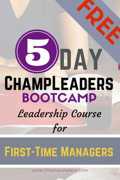 ChampLeaders Bootcamp 5 Day Leadership Course for First-Time Managers - ChampLeaders Leadership Courses, Leadership Coaching, Leadership Development, Communication Skills, Personal Development, Effective Communication, Leadership Quotes, Life Coaching, Team Activities