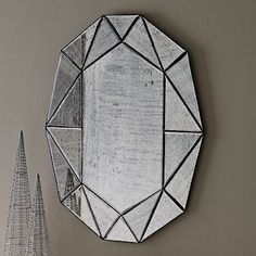 Gem Mirror #westelm