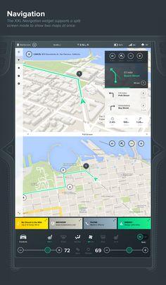 Tesla Interface Concept / Bureau Oberhaeuser