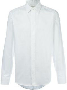 MARC JACOBS Concealed Button Fastening Shirt. #marcjacobs #cloth #shirt