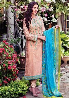 New Lawn Collection 2015 For Girls And Prices (1)