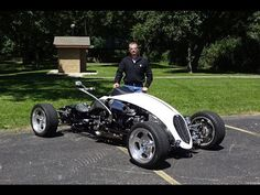 2009 Brimstone Quadracycle on My Car Story with Lou Costabile - YouTube