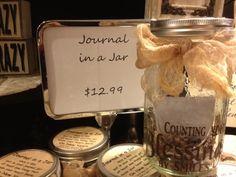 Journal in a Jar (Smiles Jar)