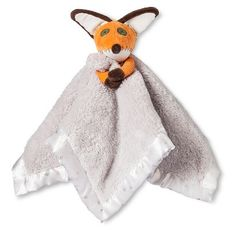 The Little Prince Fox Security Blanket Cream