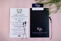 Lavender inspired wedding stationery | Photography by http://www.jobradbury.co.uk/