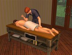Même dans les jeux vidéo, les personnages ont besoin de massage (Heza)