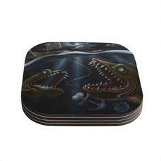 "Graham Curran ""Sink or Swim"" Coasters (Set of 4)"