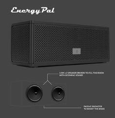 Amazon.com: Bluetooth Speakers, SoundPal F2 Portable Bluetooth Speaker Compatible with all Bluetooth Devices (Black F2): Electronics