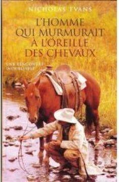 Couverture : L'homme qui murmurait à l'oreille des chevaux