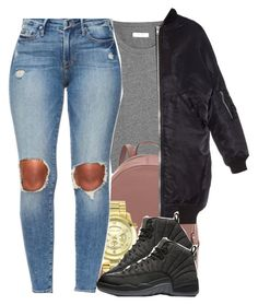 """Untitled #396"" by nanuluv ❤ liked on Polyvore featuring Madewell, R13 and Michael Kors"