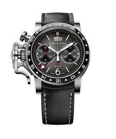 Graham Chronofighter Vintage GMT- gray