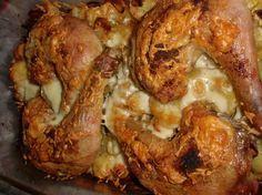 Řecká kuřecí stehna