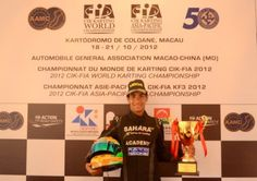 Jehan Daruvala - Everyone at the Sahara Force India Academy has been instrumental in my performance. This is my biggest victory so far.    http://www.forceindiaf1.com/news/detail/general/sahara-force-india-driver-academy-jehan-wins-cik-fia-asia-pacific-kf3-champ