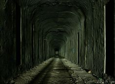 Cincinnati's abandoned subway. Built in the 1920s, never used.