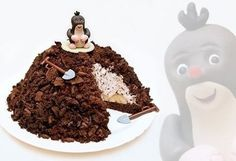 with cocoa and bananas Kaja, Food Pictures, Gingerbread Cookies, Cocoa, Delish, Goodies, Sweets, Recipes, Cakes