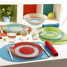 ¿Azul, verde o rojo? ¿Qué color prefieres para llenar de vida tu mesa? #ColoreaTuVida