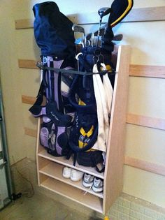 Golf Storage Unit - Pictures and Plans | Pinterest | Golf Storage and Golf room & Golf Storage Unit - Pictures and Plans | Pinterest | Golf Storage ...