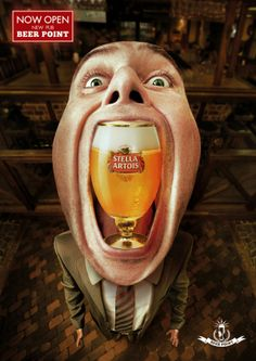 Adeevee - Beer Point pub: Krusovice, Hoegaarden, Guinness, Stella Artois, Paulaner