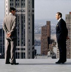 "Kevin & Milton in The Devils Advocate. ""Are we negotiating ? ""....""Always."""