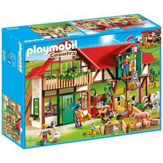 Buy Playmobil 6120 Large Farm at Argos.co.uk - Your Online Shop for Action figures and playsets, Action figures and toys, Toys.