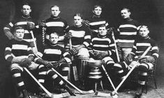 On This Day January 4 1904 Ottawa Silver win the Stanley Cup over the Winnipeg Rowing Club Hockey Teams, Ice Hockey, Hockey Stuff, Sports Teams, Rowing Club, Stanley Cup Champions, History Timeline, National Hockey League, Team Photos