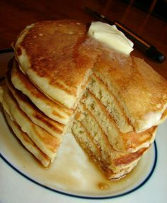 Old fashion pancakes makes 12 pancakes  1 1/2 cups all-purpose flour 3 1/2 teaspoons baking powder 1 teaspoon salt 1 tablespoon white sugar 3 tablespoons butter, melted 1 egg 1 1/4 cups milk cooking spray   How to make this recipe   1.Sift together flour, baking powder, salt, and sugar in a large bowl.  2.Whisk in melted butter, egg, and milk until combined. Let batter rest for 5 minutes.  3.Preheat a large skillet over medium-high heat. Spray with cooking spray. Pour batter into the hot…