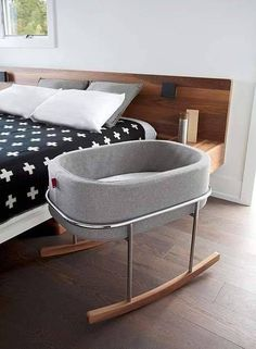 Cool and modern bassinet
