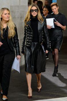 Olivia Palermo - Semana de Moda de Londres (Fevereiro 2014)