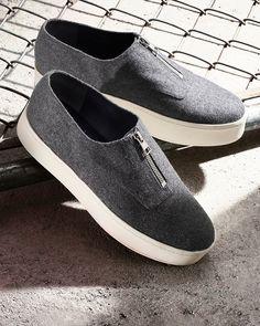 e8c95d65c22 Vince Warner Flannel Platform Sneakers - 100% Bloomingdale s Exclusive  Platform Sneakers