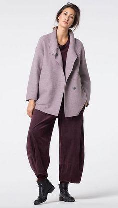 Printed corduroy Trousers Vamika at OSKA New York.