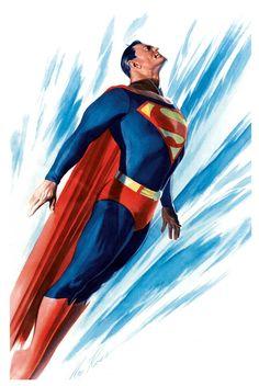 "spaceshiprocket: "" Superman by Alex Ross """