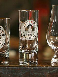 2oz Headframe Spirits Shot Glass - Headframe Spirits