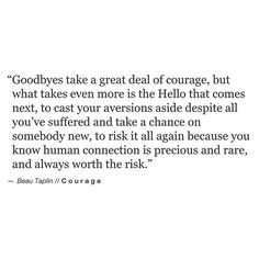 Beau Taplin | Courage