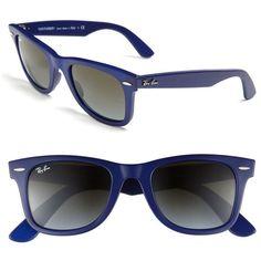 Ray-Ban \u0026#39;Classic Wayfarer\u0026#39; 50mm Sunglasses found on Polyvore