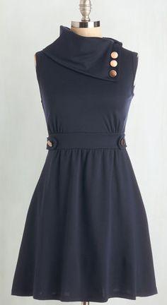 Navy blue Coach Tour dress