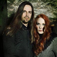 Oliver Palotai and Simone Simons