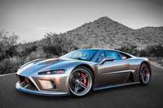 American made Falcon F7 featuring an 1,100 H.P. Lingenfelter twin turbo V-8 capable of propelling this hyper car to speeds of over 200 mph with a 0-60 time of just 2.7 seconds. MSRP: $195,000