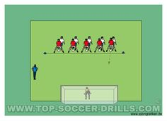 Good soccer drills for finishing should improve goal scoring, focus on staying in control of the ball and finishing with a good shot on goal.