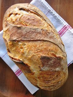 I'm not a chef: Békebeli leavened white bread - kneading, natural leavening, baked pots Pastry Recipes, Bread Recipes, Cookie Recipes, Dessert Recipes, Baking And Pastry, Bread Baking, Bread Dough Recipe, Hungarian Recipes, Dessert Drinks
