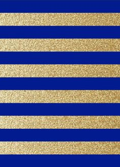 Blue & Gold pattern