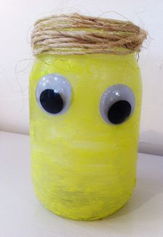 easy to make glow in the dark goblin jars